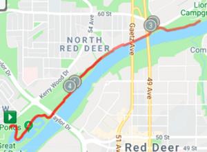 5k Run Map