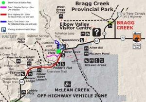 Blitz Duathlon Course Map