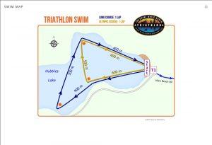 Great White North Swim Map