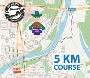 Red Deer Round Up 5K Distance