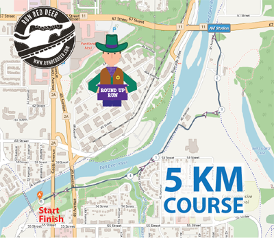 Red Deer Round Up 5K Distance