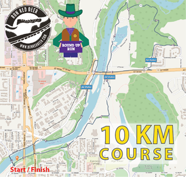 Red Deer Round Up 10K Distance
